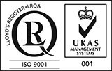 LRQA ISO9001 Certificate