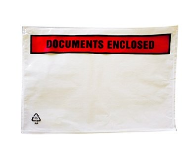 Document Enclosed Envelopes - Printed Variety